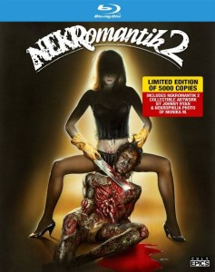 "The 2015 blu rary release of ""Nekromantik 2"" retains the same artwork of the original VHS cover art. The limited edition set is available to order here."