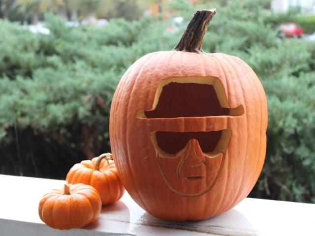 Breaking Bad-Themed Heisenberg Pumpkin Carving